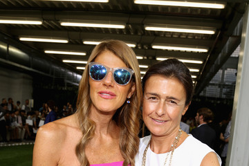 Francesca Ruffini Moncler Gamme Blue - Front Row - MFW S/S 2014