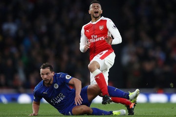 Francis Coquelin Arsenal v Leicester City - Premier League