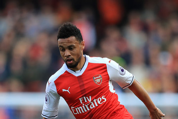 Francis Coquelin Arsenal v Manchester United - Premier League