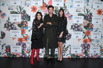 Francisco Lachowski ERDEM X H&M Paris Collection Launch - Photocall