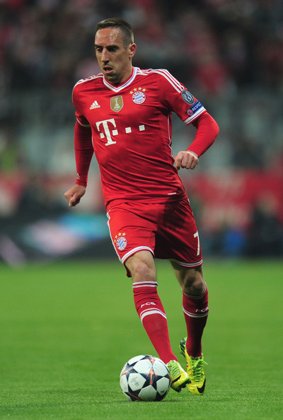 franck ribery pictures fc bayern muenchen v manchester. Black Bedroom Furniture Sets. Home Design Ideas