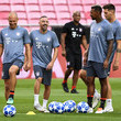 Franck Ribery Bayern Muenchen Training And Press Conference - UEFA Champions League
