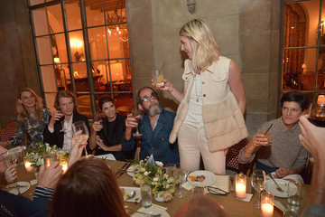 Francois Girbaud Marisa Tomei and Kelly Connor Host a Dinner Celebrating Co Denim Avec Francois Girbaud