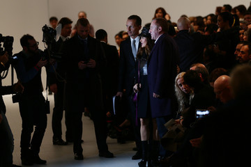 Francois-Henri Pinault Gucci - Front Row - Milan Fashion Week Womenswear Autumn/Winter 2014