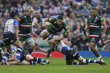 Francois Louw Bath Rugby v Leicester Tigers - Aviva Premiership