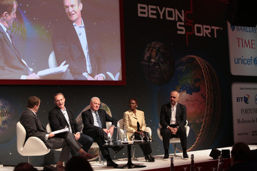 Francois Pienaar Beyond Sport Summit and Awards: Beyond Sport Main Stage Day