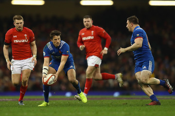 Francois Trinh-Duc Wales v France - NatWest Six Nations