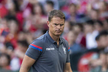 Frank De Boer West Brom v Crystal Palace: Premier League Asia Trophy