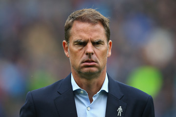 Frank De Boer Burnley v Crystal Palace - Premier League