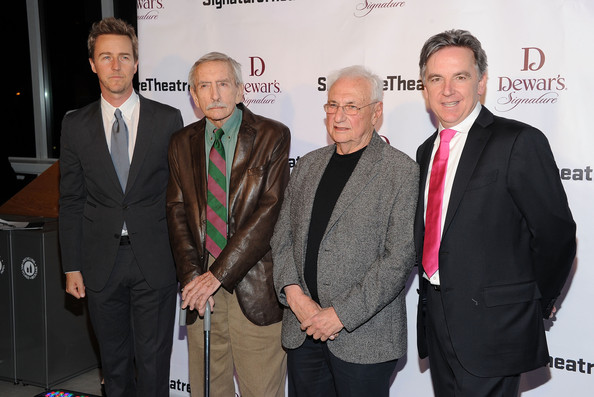 The Signature Center Opening Gala Celebration [event,suit,award,premiere,white-collar worker,businessperson,new york city,signature center opening gala celebration,gala,the signature center opening,edward norton,frank gehry,james houghton,edward albee]