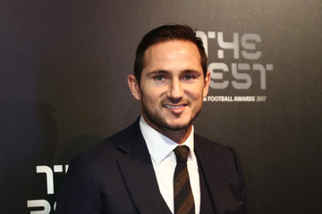 Frank Lampard The Best FIFA Football Awards - Green Carpet Arrivals