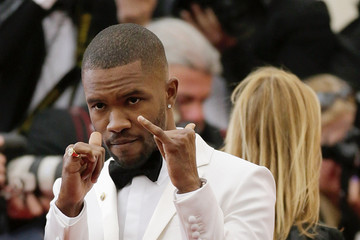 Frank Ocean Red Carpet Arrivals at the Met Gala