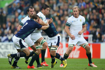 Fraser Brown South Africa v Scotland - Group B: Rugby World Cup 2015