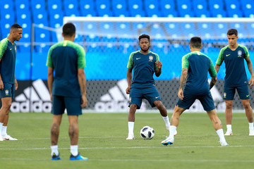 Fred Brazil Training And Press Conference