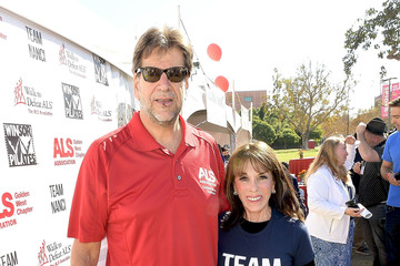 Fred Fisher Nanci Ryder's Team Nanci Participates in the 15th Annual LA County Walk to Defeat ALS - Arrivals