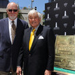 Gil Cates Fred Hayman Honored With Plaque Unveiling & Induction Ceremony By The Rodeo Drive Walk Of Style