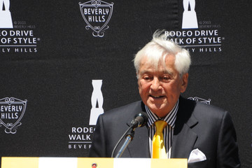 Fred Hayman Fred Hayman Honored With Plaque Unveiling & Induction Ceremony By The Rodeo Drive Walk Of Style