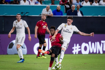 Fred Manchester United vs. Real Madrid - International Champions Cup 2018
