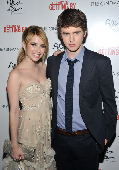 Freddie Highmore and E...