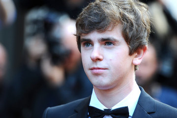 Freddie Highmore Arrivals at the GQ Men of the Year Awards
