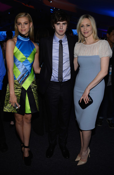 Inside the A E Networks Nicola Peltz And Freddie Highmore