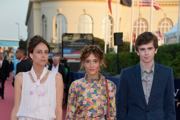 Freddie Highmore 'Before I Go To Sleep' Premiere And Tribute To Will Ferrell - 40th Deauville American Film Festival