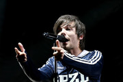 Louis Tomlinson performs on stage during Free Radio Hits Live at Arena Birmingham on May 04, 2019 in Birmingham, England.