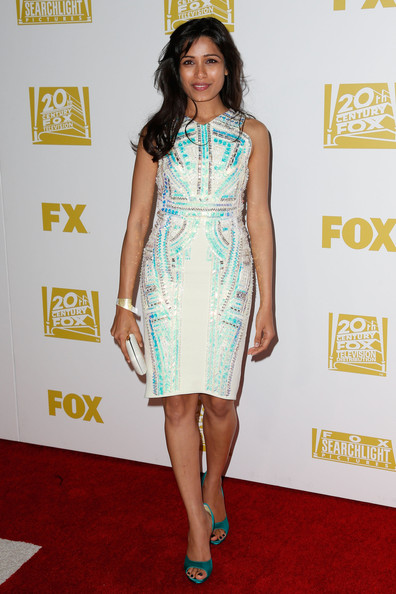 Freida Pinto - Fox Searchlight 2013 Golden Globe Awards Party - Arrivals