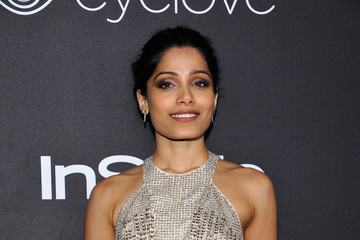 Freida Pinto The 2017 InStyle and Warner Bros. 73rd Annual Golden Globe Awards Post-Party - Red Carpet