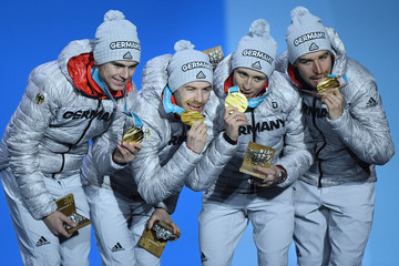 Frenzel Medal Ceremony - Winter Olympics Day 14