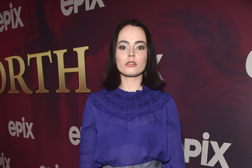 Freya Tingley Los Angeles Premiere Of Epix's 'Pennyworth' - Red Carpet