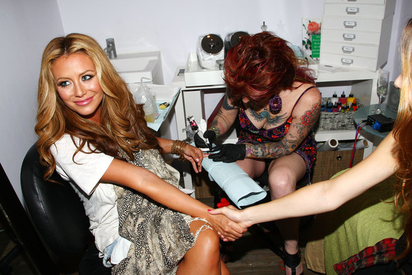 Tattoo Studio at Senses NY Salon & Spa on July 14, 2009 in New York City.