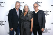 "(L-R) Executive producers Kevin Bright, Marta Kauffman and David Crane attend""Friends"" 25th Anniversary during 2019 Tribeca TV Festival at Regal Battery Park Cinemas on September 13, 2019 in New York City."