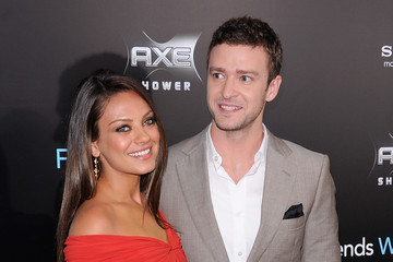 """Justin Timberlake Mila Kunis """"Friends With Benefits"""" New York Premiere - Outside Arrivals"""