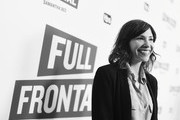 Image has been shot in black and white.) Actor Carrie Brownstein at the Full Frontal with Samantha Bee FYC Event 2017 LA at the Samuel Goldwyn Theater on May 23, 2017 in Beverly Hills, California. 27026_002