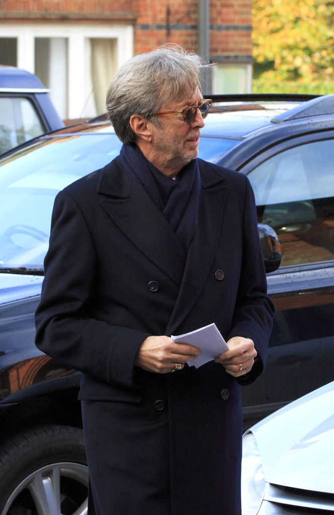 Tv And Internet Service >> Eric Clapton Photos Photos - Funeral Held for Jack Bruce - Zimbio