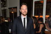 """Actor Jim Parrack attends the """"Fury"""" New York premiere at DGA Theater on October 14, 2014 in New York City."""