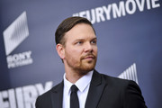 Jim Parrack poses for photographers on the red carpet during the 'The Fury' Washington D.C. premiere at The Newseum on October 15, 2014 in Washington, DC.