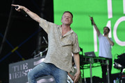 Ben Haggerty aka Macklemore performs live for fans as part of the 2014 Future Music Festival at RNA Showgrounds on March 1, 2014 in Brisbane, Australia.