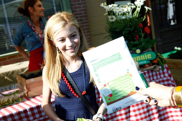 G. Hannelius Actress G. Hannelius attends Variety's Power of Youth presented by Hasbro and GenerationOn at Universal Studios Backlot on July 27, 2013 in Universal City, California.