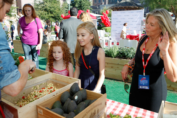 G. Hannelius Actress G. Hannelius (C) attends Variety's Power of Youth presented by Hasbro and GenerationOn at Universal Studios Backlot on July 27, 2013 in Universal City, California.