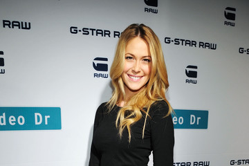 Sarah Carroll G-Star Rodeo Drive Store Opening