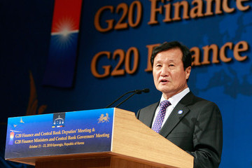 Yoon Jeung-hyun G20 Finance Ministers & Central Bank Governors Meeting Takes Place In Seoul
