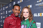 (L-R) Kalen Allen and Liv Hewson attend the GLSEN Respect Awards Los Angeles at the Beverly Wilshire Four Seasons Hotel on October 25, 2019 in Beverly Hills, California.