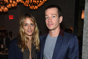 Designer Charlotte Ronson and Singer of the band Fun Nate Ruess attend GOOD+ Foundation & MR PORTER Host Fatherhood Lunch With Jerry Seinfeld at Le Coucou on June 8, 2017 in New York City.
