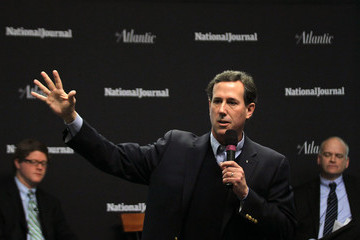 Ron Fournier GOP Presidential Hopeful Rick Santorum Campaigns In New Hampshire