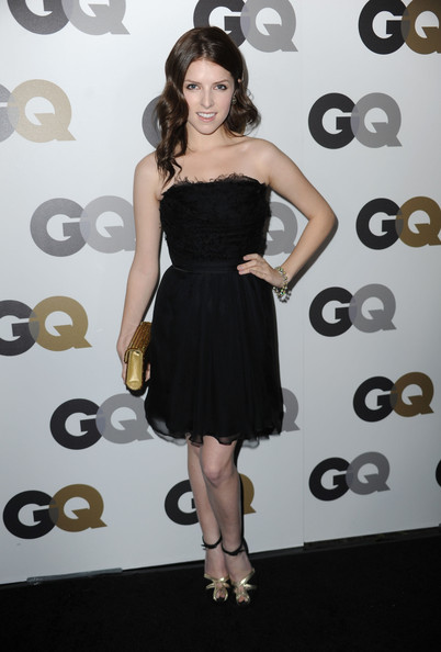 "Actress Anna Kendrick arrives at the 15th annual ""GQ Men of the Year"" party held at Chateau Marmont on November 17, 2010 in Los Angeles, California."