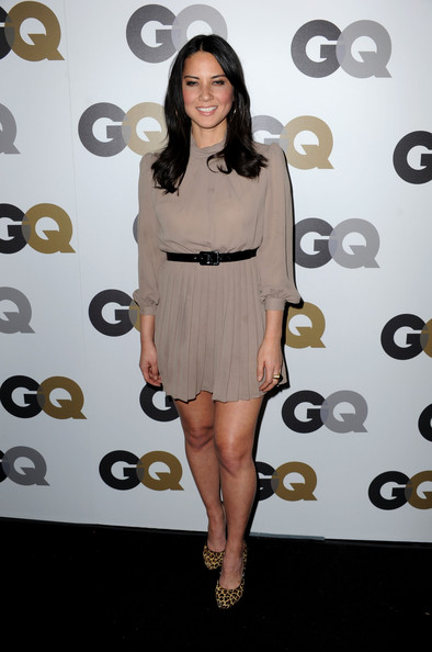 "Actress Olivia Munn arrives at the 15th annual ""GQ Men of the Year"" party held at Chateau Marmont on November 17, 2010 in Los Angeles, California."