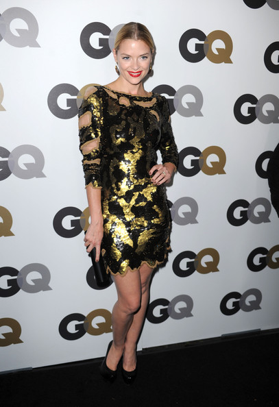 "Actressd Jaime King arrives at the 15th annual ""GQ Men of the Year"" party held at Chateau Marmont on November 17, 2010 in Los Angeles, California."
