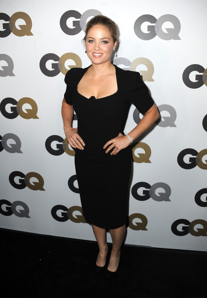 "Actress Erika Christensen  arrives at the 15th annual ""GQ Men of the Year"" party held at Chateau Marmont on November 17, 2010 in Los Angeles, California."